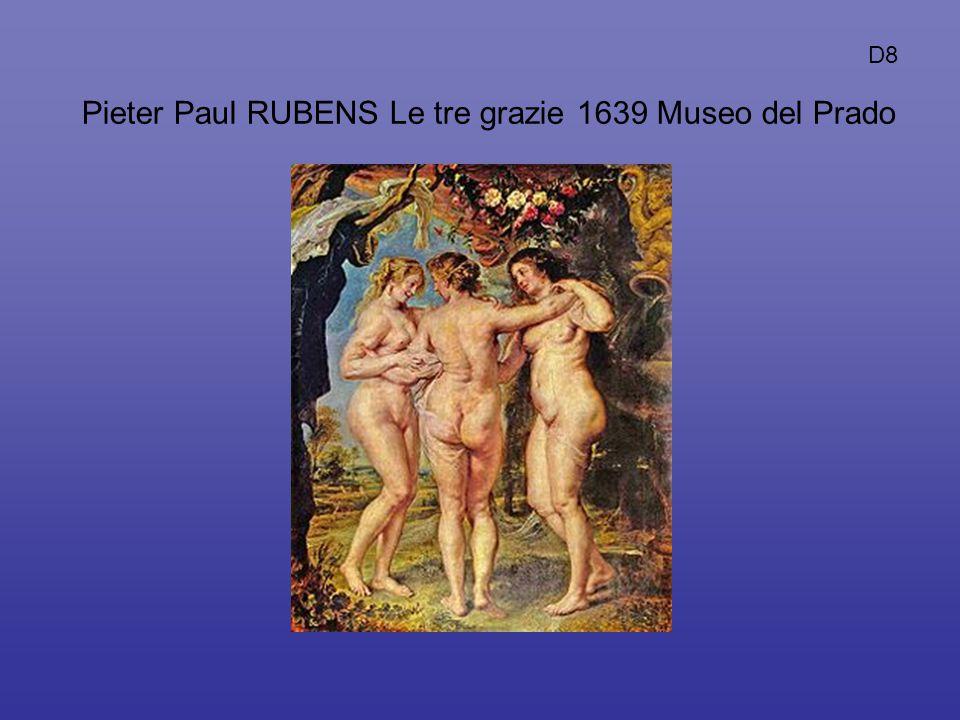 Pieter Paul RUBENS Le tre grazie 1639 Museo del Prado D8