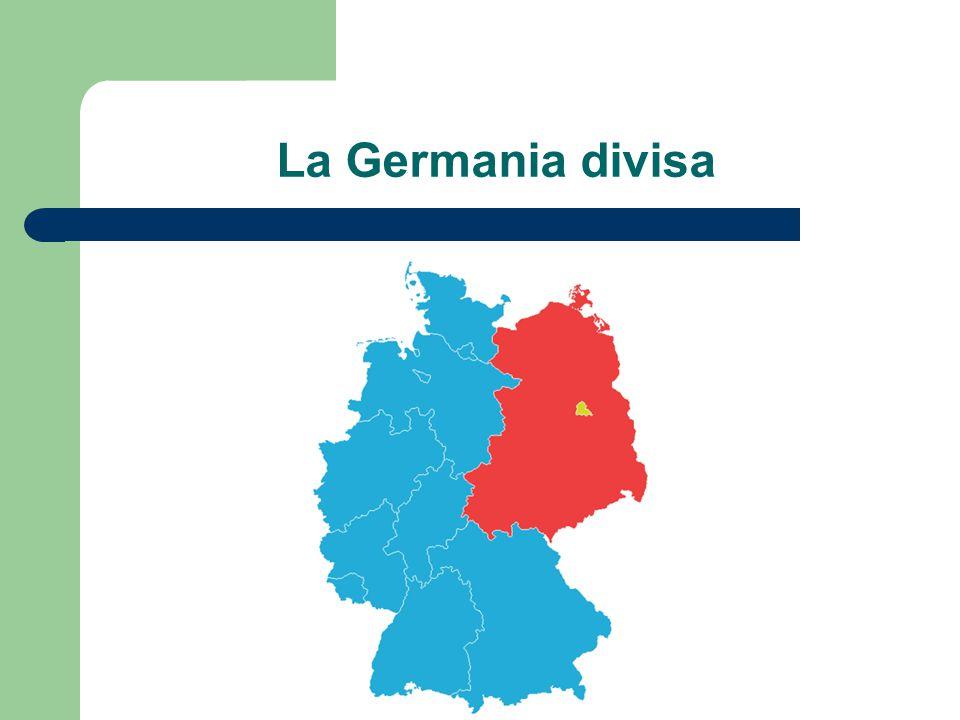 Nascita della Legge fondamentale 1948/49 Consiglio parlamentare composto dai rappresentanti dei Landtage (parlamenti dei Länder) – Convocati dai governatori militari occupanti Ratifica di tutti i Landtage – Con l'eccezione della Baviera che però annuncia che aderirà in caso di ratifica dei due terzi dei Länder Controllo dei comandi militari alleati – Passo passo (es.