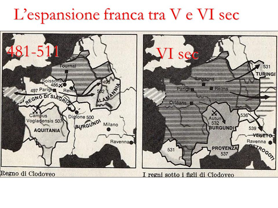 Il vassaticum (3) E' un legame (amicitia) che non comporta uguaglianza: c'è un inferiore (vassus) che si sottomette ad un superiore (senior, dominus).