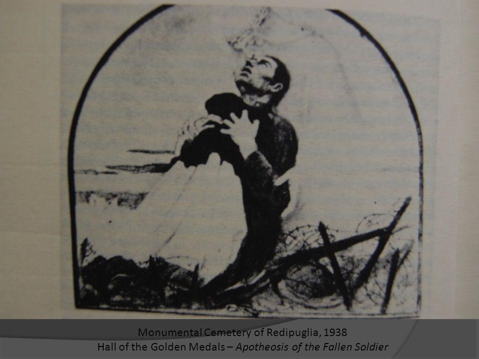 La Grande Guerra Il vescovo castrense italiano Angelo Bartolomasi, scandalizzato: L'uomo che cade per il paese è detto martire, la patria e I suoi ideali sono chiamati santi, la gente parla dell'altare della patria, si esalta le fede nel destino della nazione, si richiede il battesimo del fuoco nemico, la scomunica è inflitta ai neutralisti, il piane dei soldati è detto Eucaristia,si inventano Dieci Comandamenti d'odio contro il nemico, l'opera di dottori e infermiere è considerato sacerdozio.