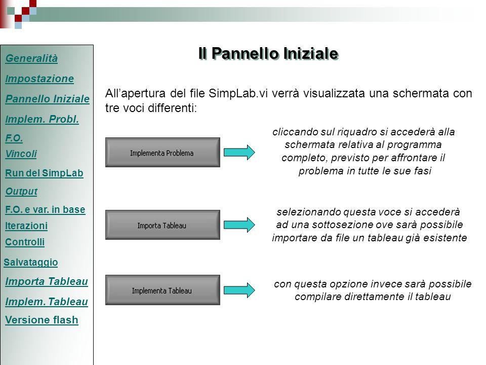 Modalità IMPORTA TABLEAU (1/2) Attraverso questa modalità, attivabile cliccando sul relativo riquadro nel pannello iniziale, si accederà ad una sezione dove sarà possibile acquisire un tableau già esistente da un file in formato txt (testo).