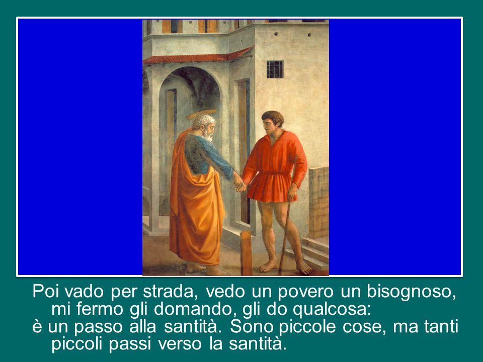 Poi arriva la domenica e andiamo a Messa, facciamo la comunione, a volte preceduta da una bella confessione che ci pulisca un po'.