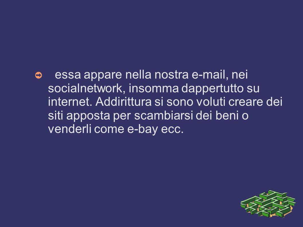 La Publicità Su internet ➲ La pubblicità su internet rientra nella categoria dei nuovi media e sfrutta la capacità del Web di raggiungere una quantità