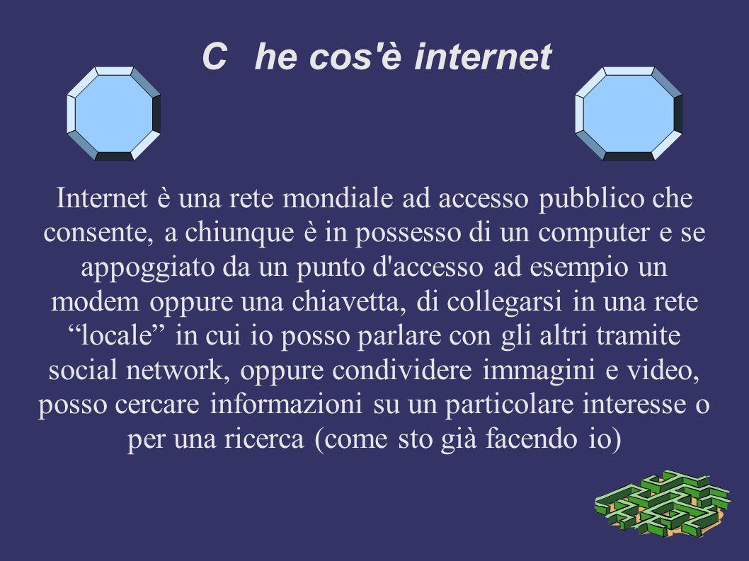 A cura di Alessandro Bacchilega 3b Internet