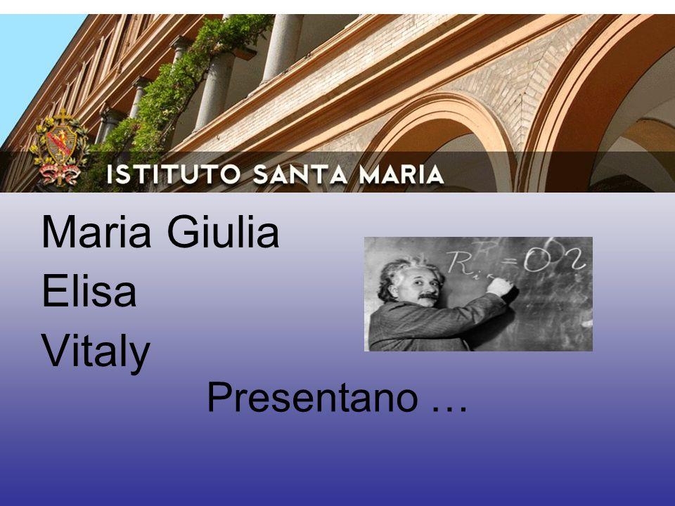 Presentano … Maria Giulia Elisa Vitaly
