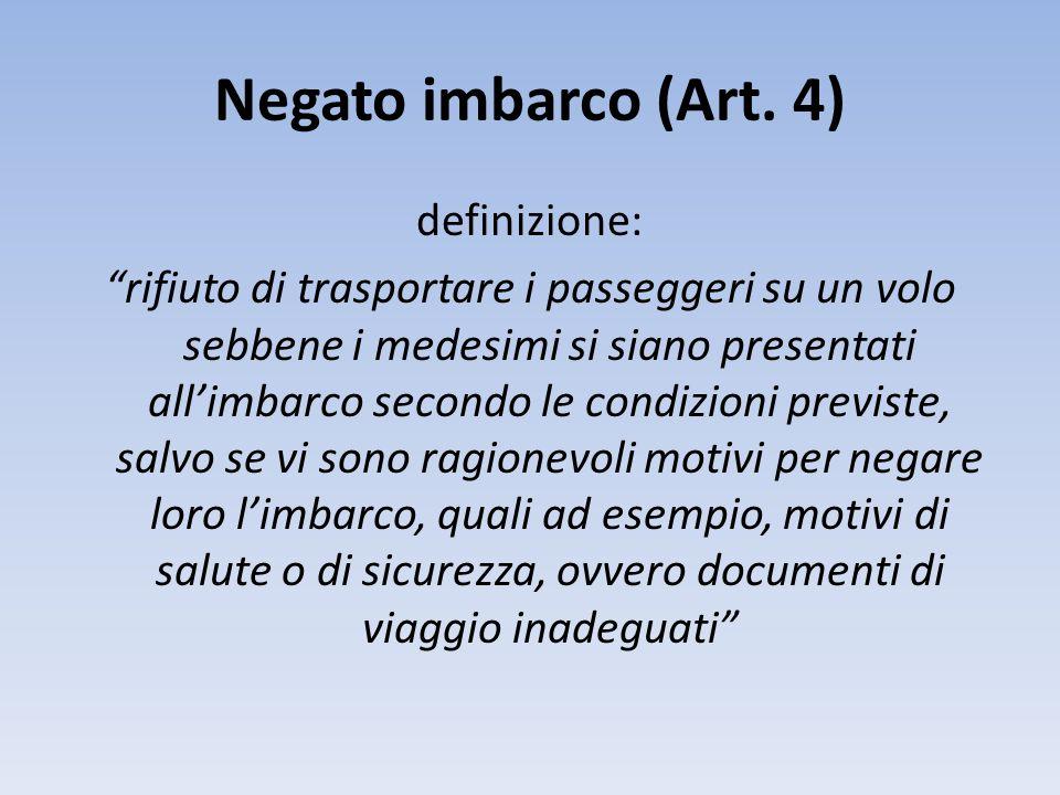 Negato imbarco (Art.