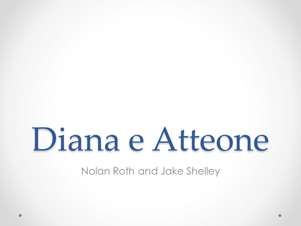 La storia di Atteone e Diana è molto famoso Un buon dipinto di Federico Cerveli si chiama Atteone e Diana e ritrae la storia Il dipinto molto famoso