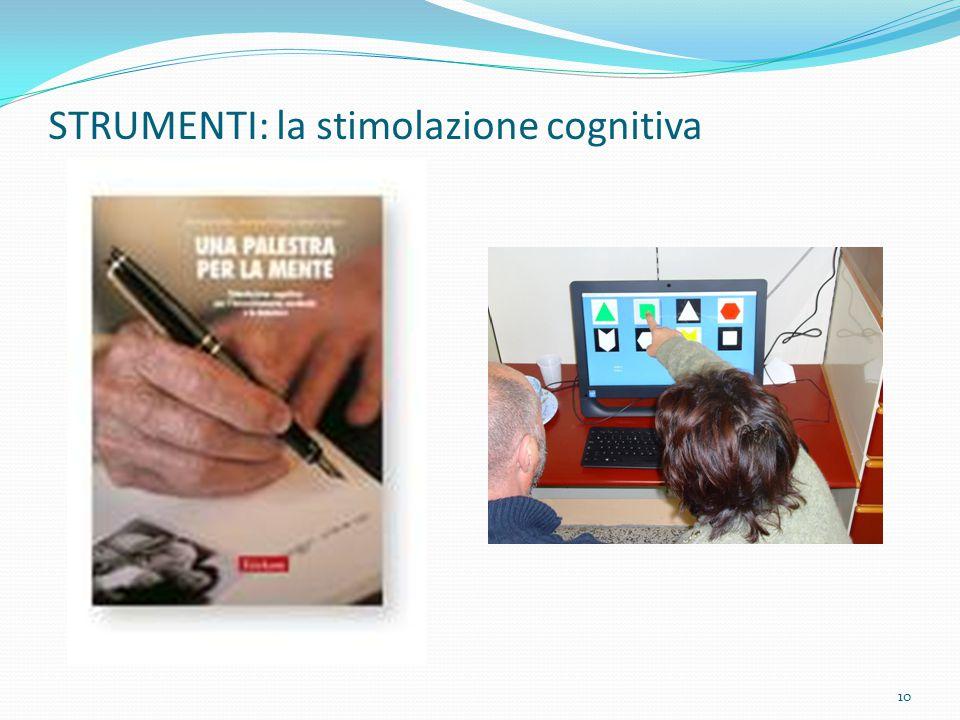 STRUMENTI: la stimolazione cognitiva 10