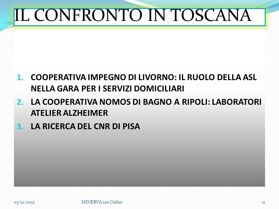 IL CONFRONTO IN TOSCANA 1.