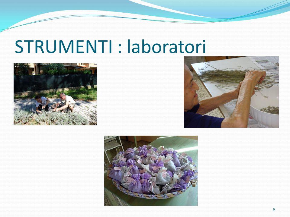 STRUMENTI : laboratori 8