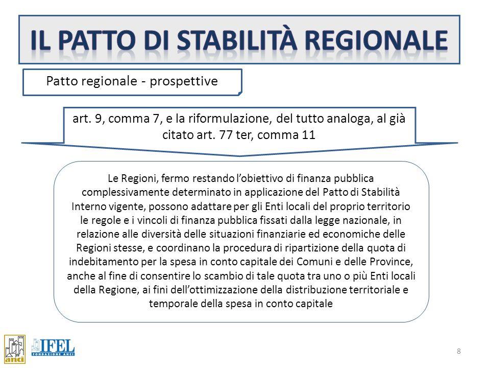 8 Patto regionale - prospettive art.