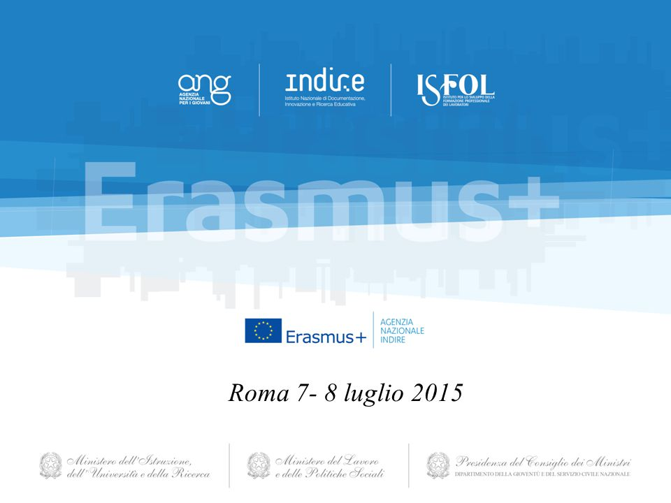 Roma 7- 8 luglio 2015