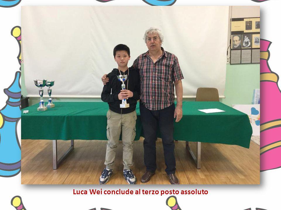 Luca Wei conclude al terzo posto assoluto