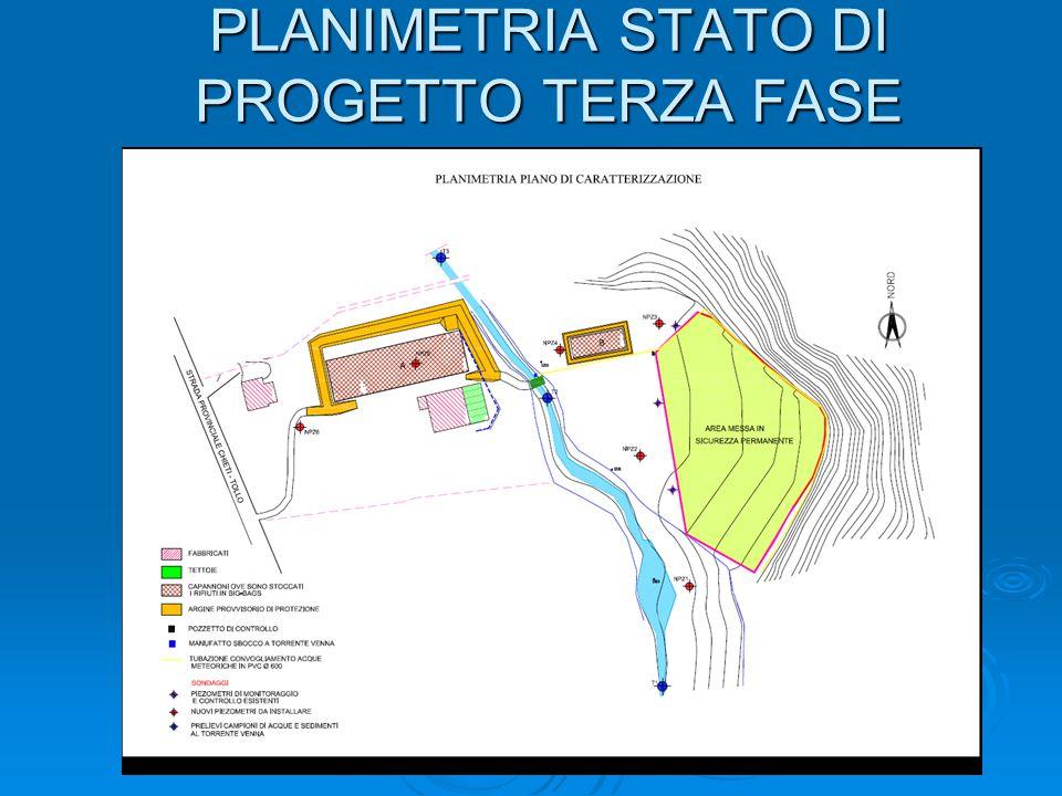 PLANIMETRIA STATO DI PROGETTO TERZA FASE