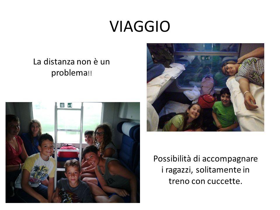 VIAGGIO La distanza non è un problema !.