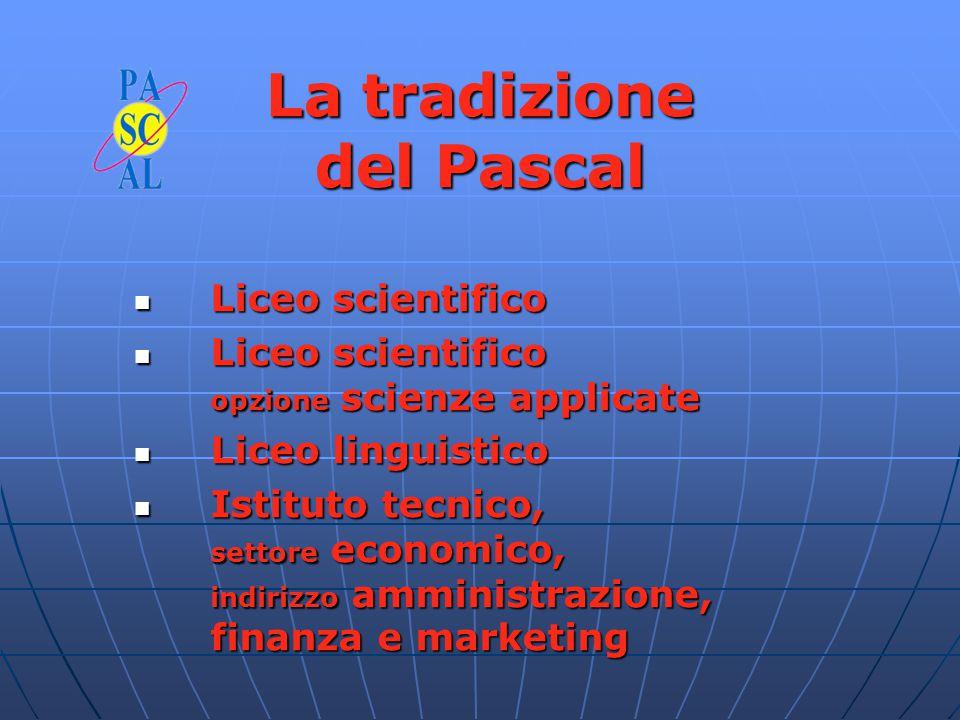 LICEO SCIENTIFICO Garantisce una approfondita formazione sia nelle discipline scientifico-matematiche, sia in quelle umanistiche, attraverso la comprensione dei legami che le uniscono.