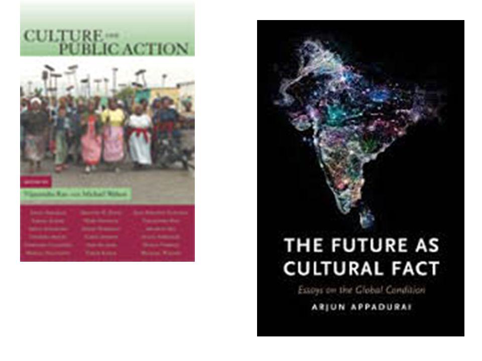 Gli orientamenti nei confronti del futuro sono parte della cultura.