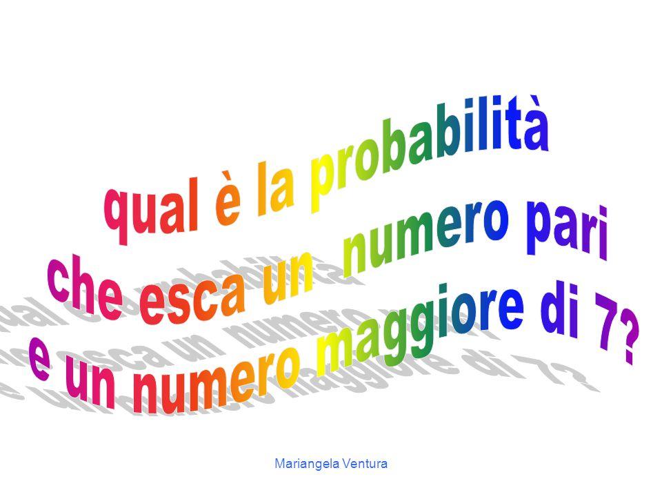 Mariangela Ventura 8 6 5 2 1 7 3 4 9 10 Un'urna contenente palline numerate da 1 a 10… 8 10 8 8 8 8 88888888
