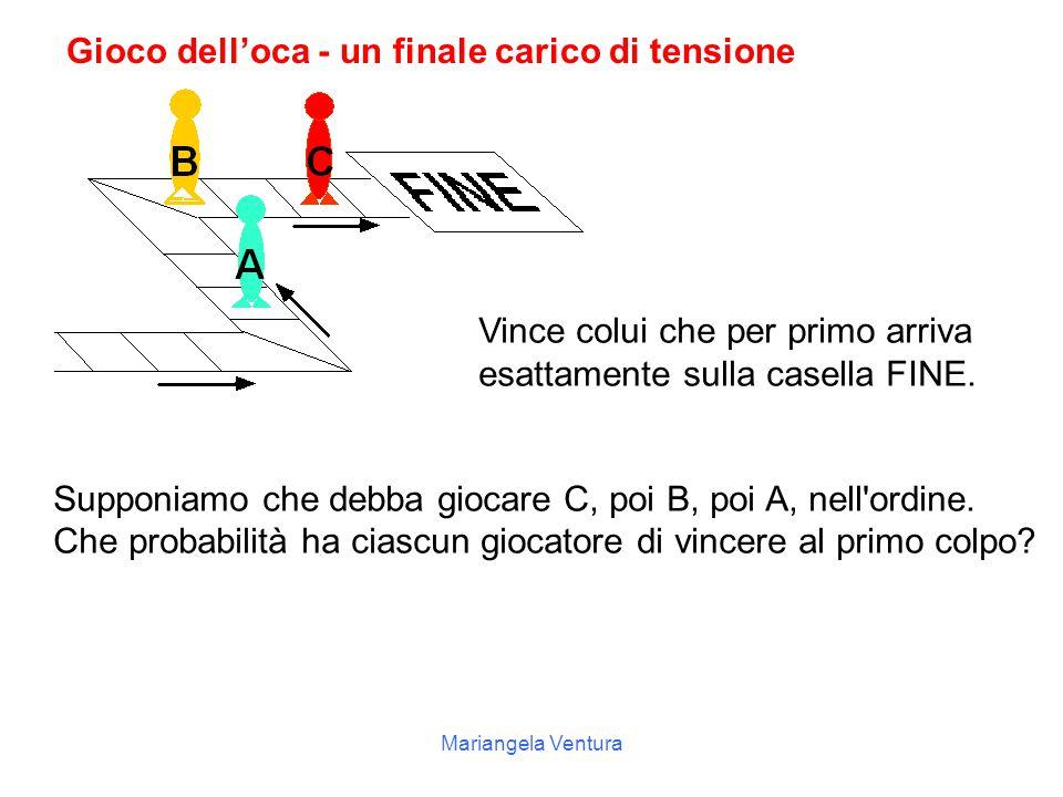 Mariangela Ventura Probabilità eventi casuali composti Eventi casuali sono composti da due o più eventi elementari che possono verificarsi contemporan