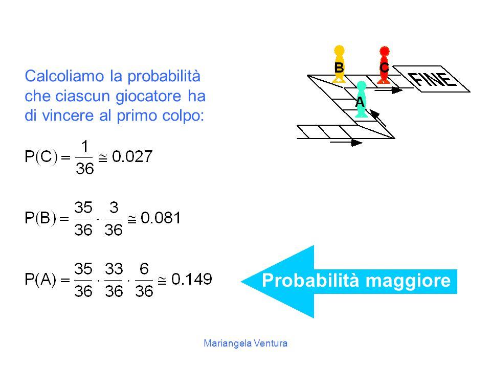Mariangela Ventura soluzione gioca C gioca B gioca A