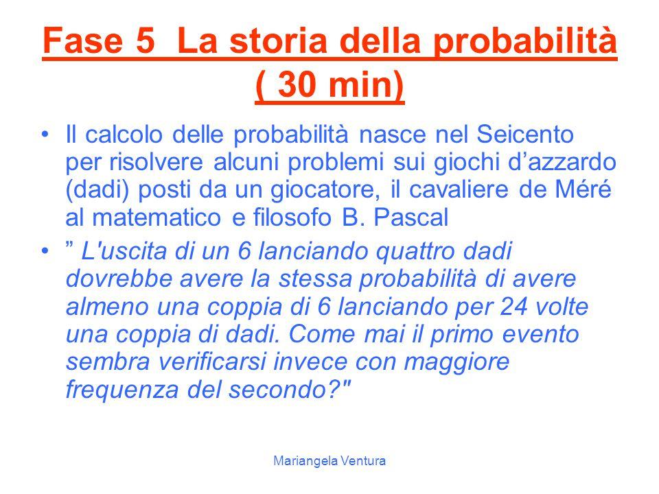 Mariangela Ventura ♠ ♣ ♥ ♦ sottoponendo un evento casuale ad un numero grande di prove, sempre nelle stesse condizioni, la frequenza relativa si appro
