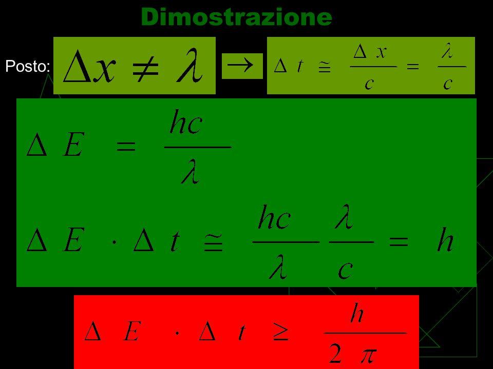 Formula analoga vale per la coppia: Energia-tempo R1R1 R2R2 R3R3