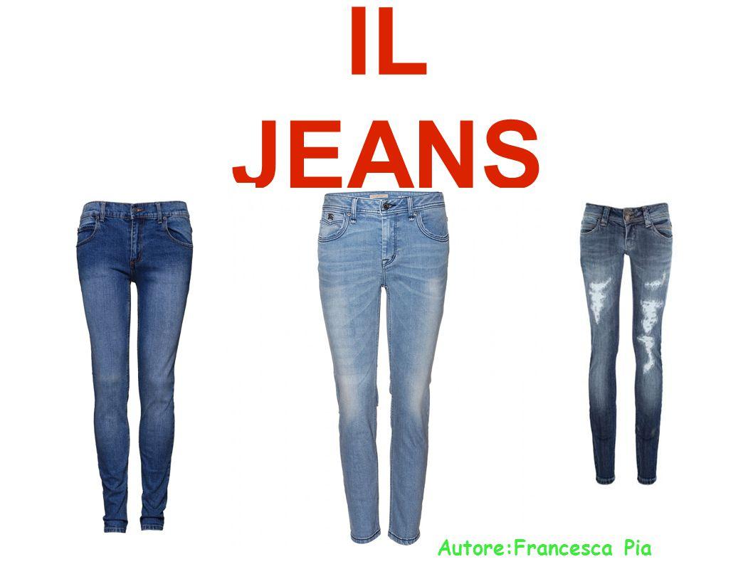Il jeans: ● Il termine blue-jeans (o jeans) rappresenta il pantalone con taglio a 5 tasche.