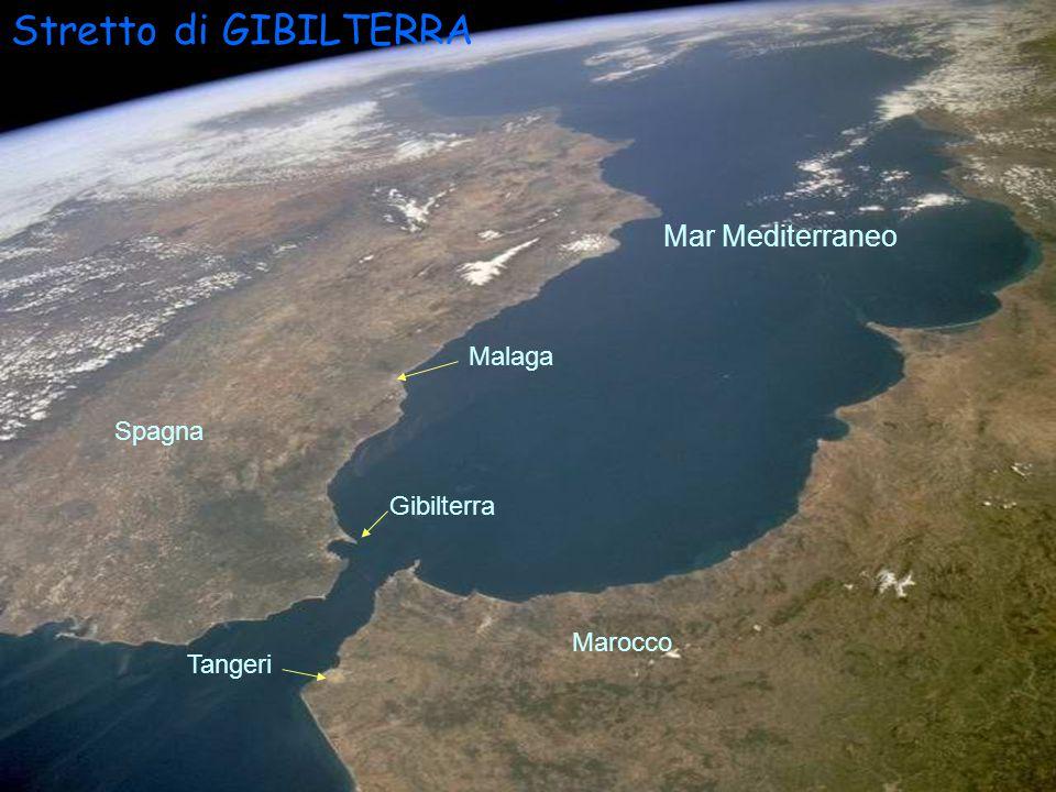 Isole Canarie Marocco Sud della Penisola Iberica.