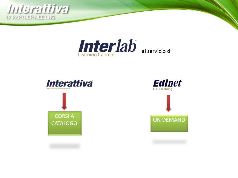 InterLab, durante la creazione di un progetto on-demand, accompagna il partner passo dopo passo attraverso un iter delineato che comprende: Progetti on-demand 1 L'analisi delle necessità formative e del target finale