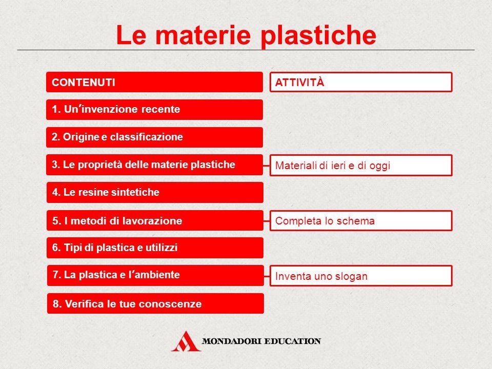 Le materie plastiche Materiali