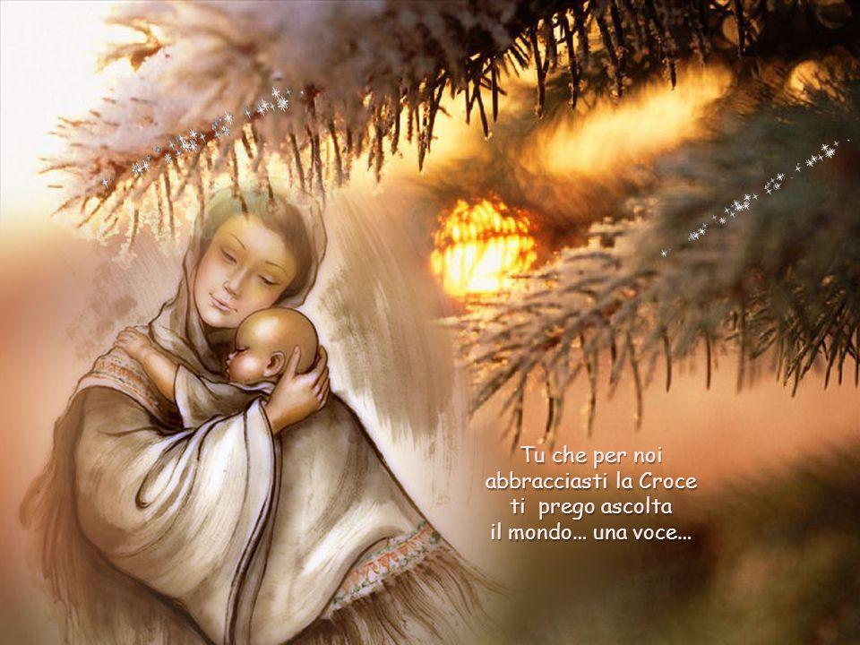 Davanti a una culla senza fronzoli e arredo, guardo il Bambino, mi inchino e mi chiedo: in questo Natale ormai alle porte sentiamo il bisogno di stringerlo forte.