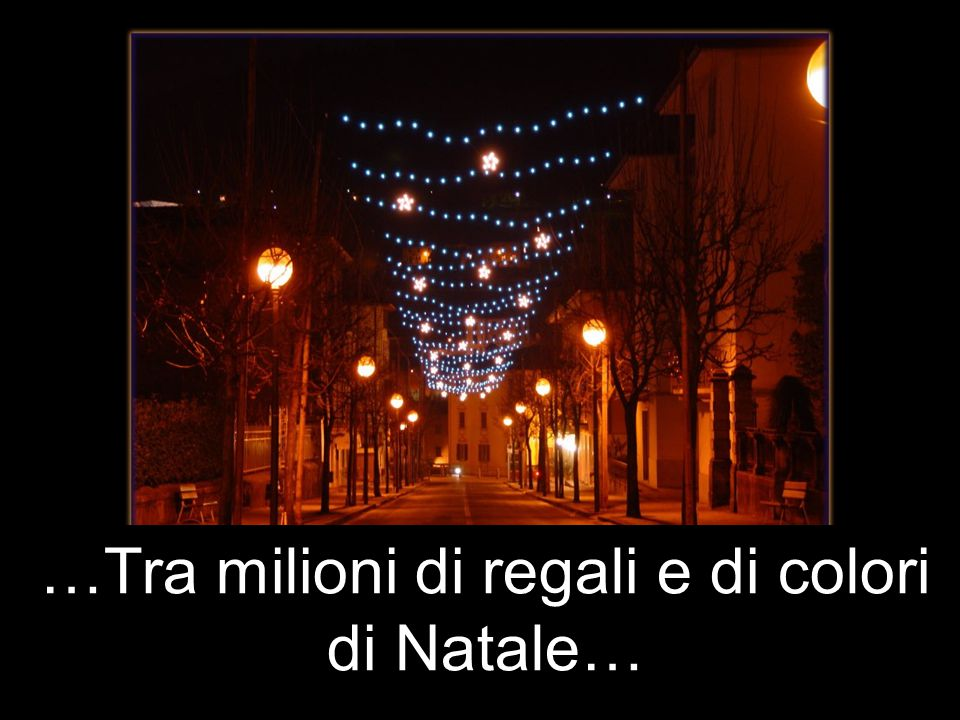 …Tra milioni di regali e di colori di Natale…