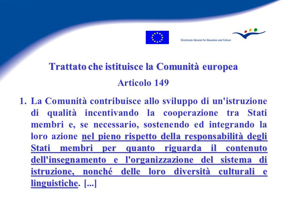 Rendere l'UE l'economia basata sulla conoscenza più competitiva e dinamica del mondo äcrescita economica sostenibile äpotenziamento dell'occupazione äcoesione sociale