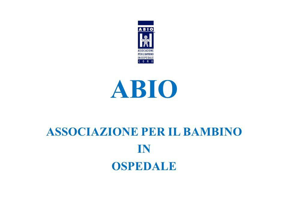 ABIO ASSOCIAZIONE PER IL BAMBINO IN OSPEDALE