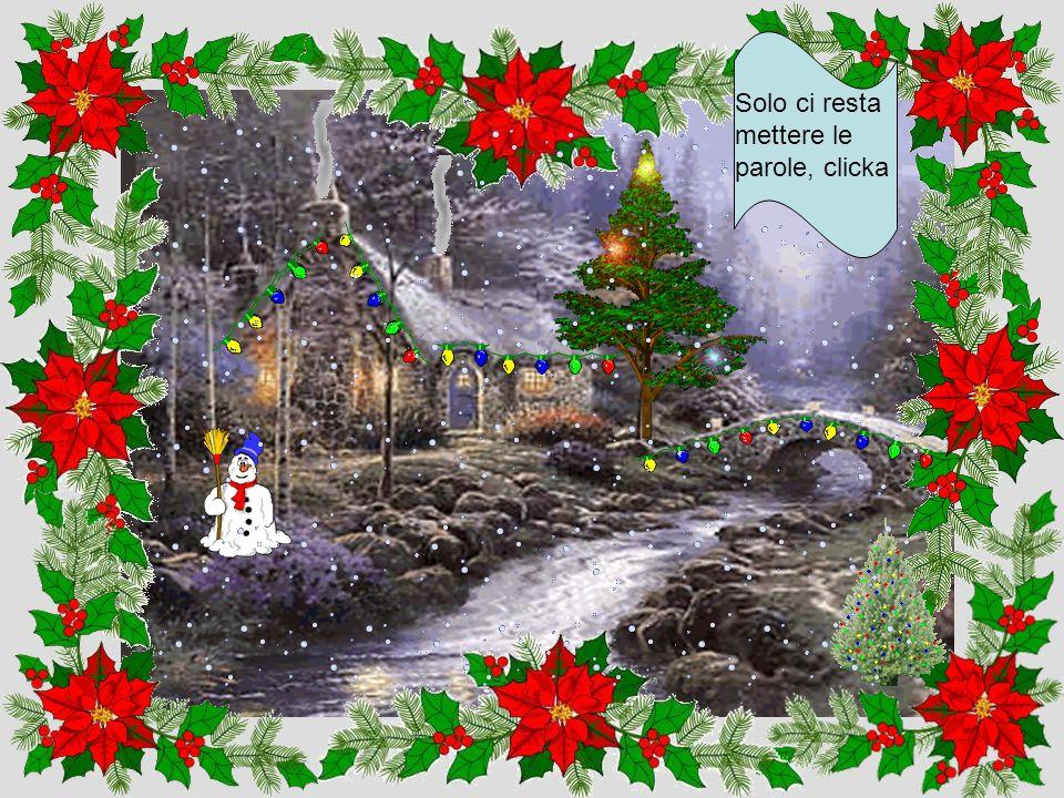 Un Natale senza neve non è Natale, clicka quì