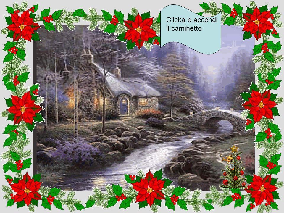Mentre la disegnamo sentiremo un canto di Natale Clicka quì