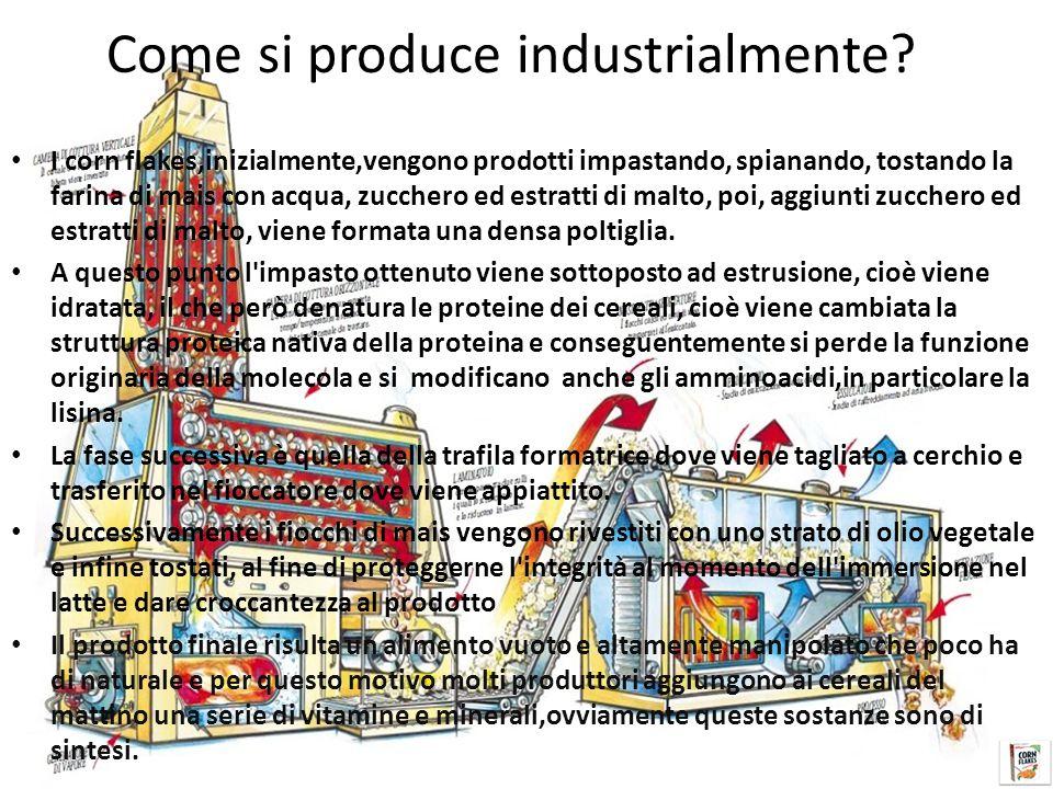 Come si produce industrialmente.