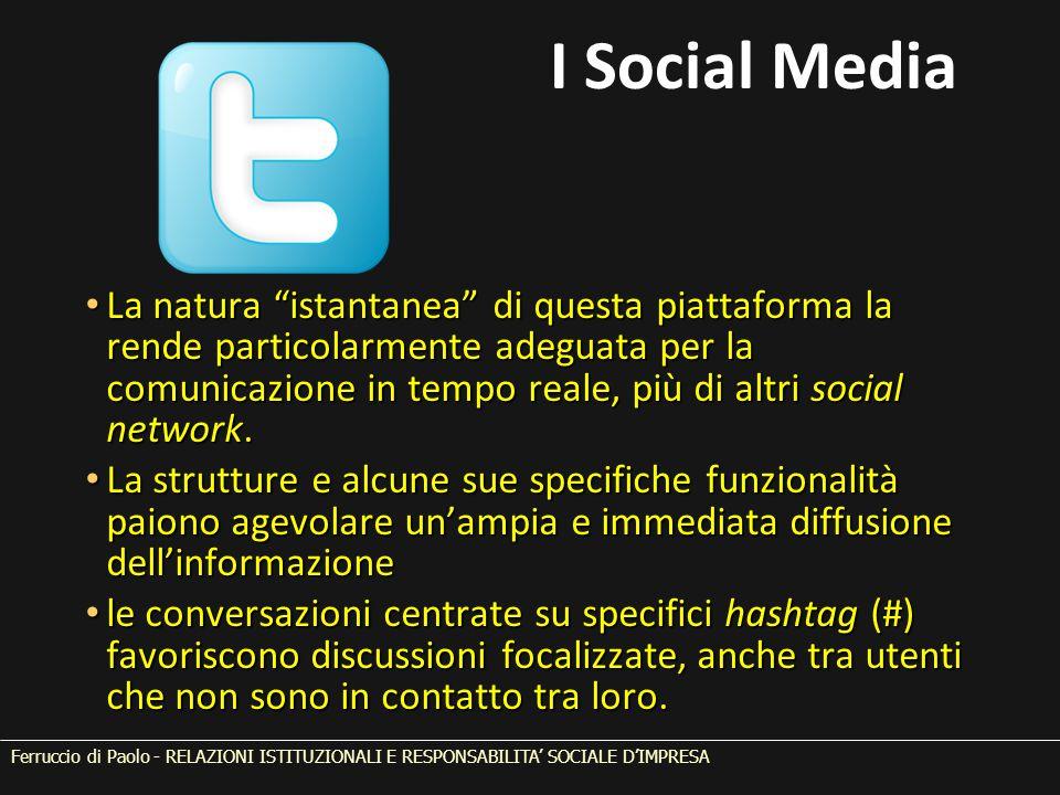 La natura istantanea di questa piattaforma la rende particolarmente adeguata per la comunicazione in tempo reale, più di altri social network.