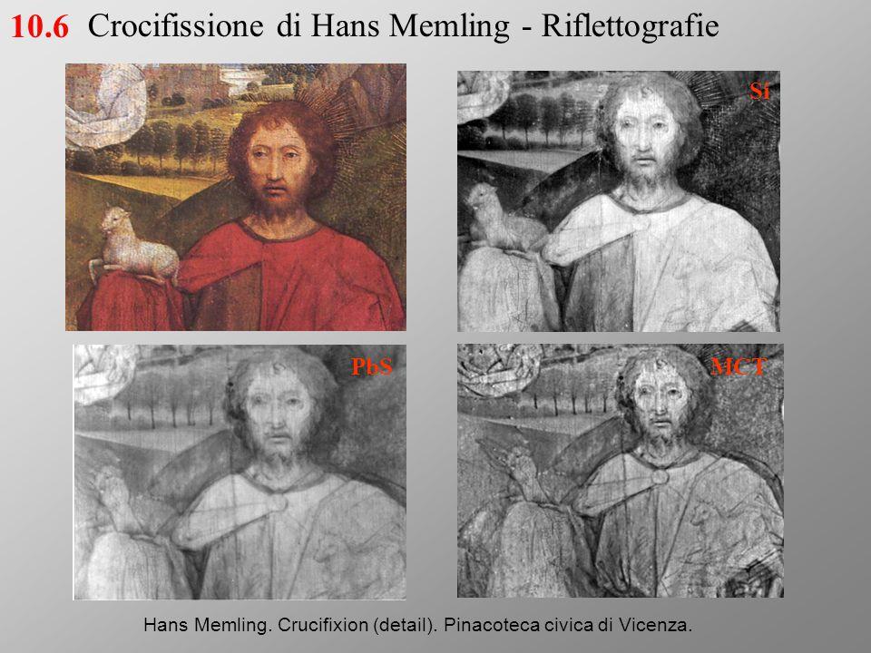Si PbS MCT Hans Memling.Crucifixion (detail). Pinacoteca civica di Vicenza.