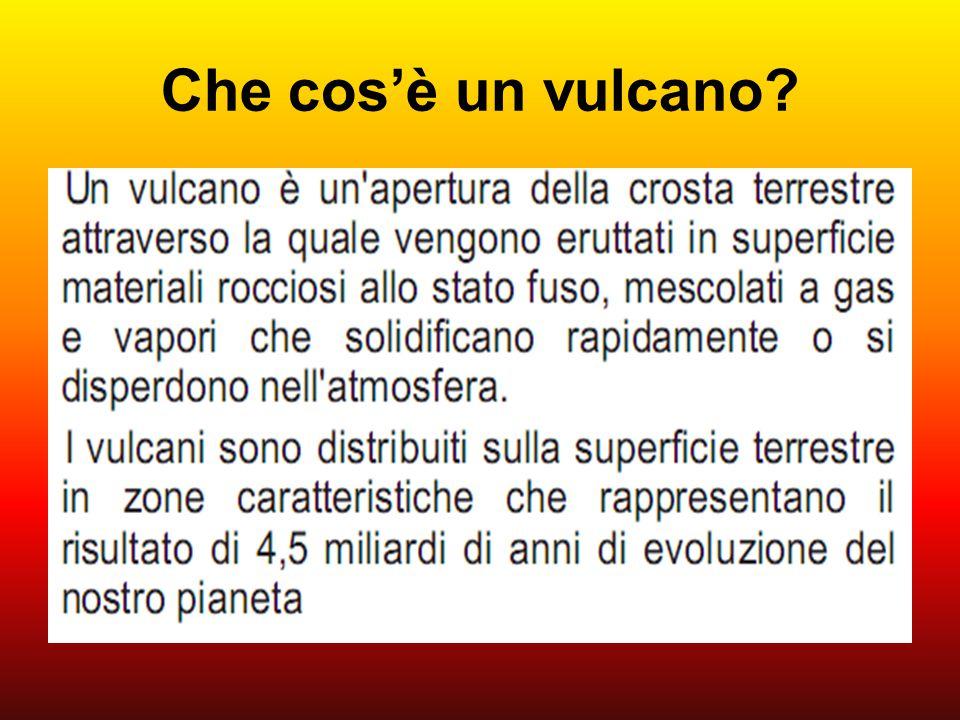 Che cos'è un vulcano?