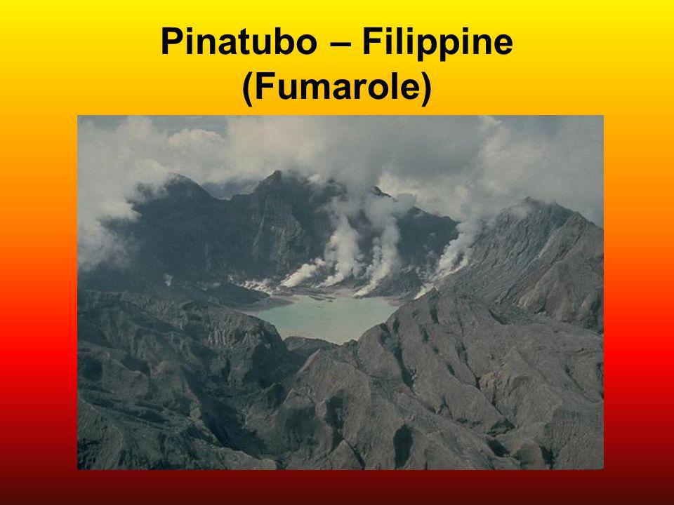 Pinatubo – Filippine (Fumarole)