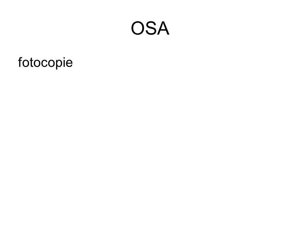 OSA fotocopie