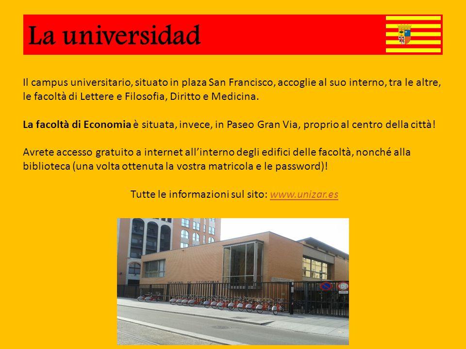 Universidad Il campus universitario, situato in plaza San Francisco, accoglie al suo interno, tra le altre, le facoltà di Lettere e Filosofia, Diritto e Medicina.