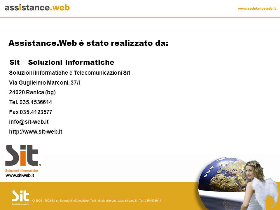 Soluzioni Informatiche e Telecomunicazioni Srl Via Guglielmo Marconi, 37/I 24020 Ranica (bg) Tel.