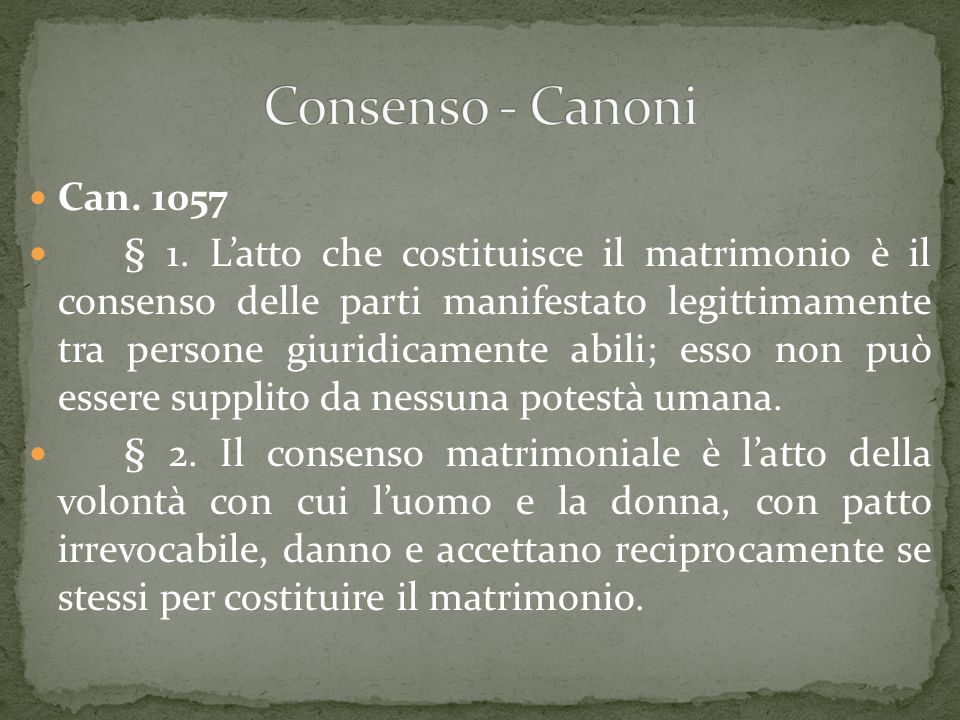 Can.1057 § 1.