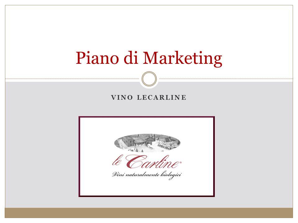 VINO LECARLINE Piano di Marketing