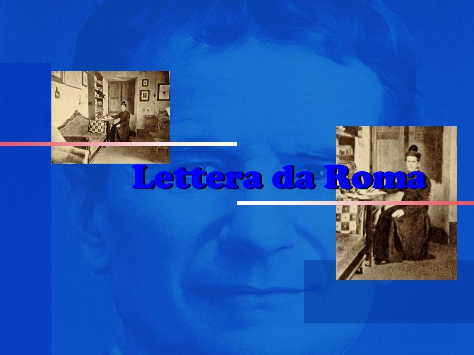 Lettera da Roma Lettera da Roma