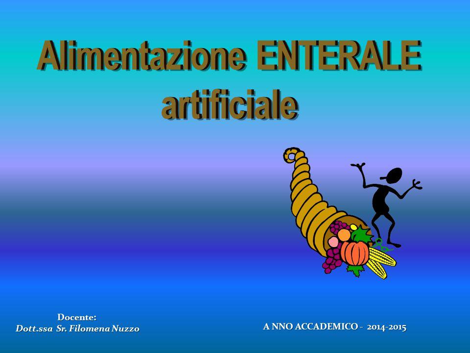 Docente: Dott.ssa Sr. Filomena Nuzzo A NNO ACCADEMICO - 2014-2015