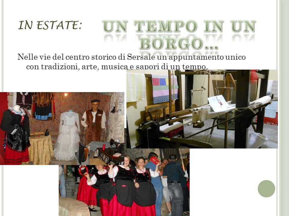 IN ESTATE: Nelle vie del centro storico di Sersale un appuntamento unico con tradizioni, arte, musica e sapori di un tempo.