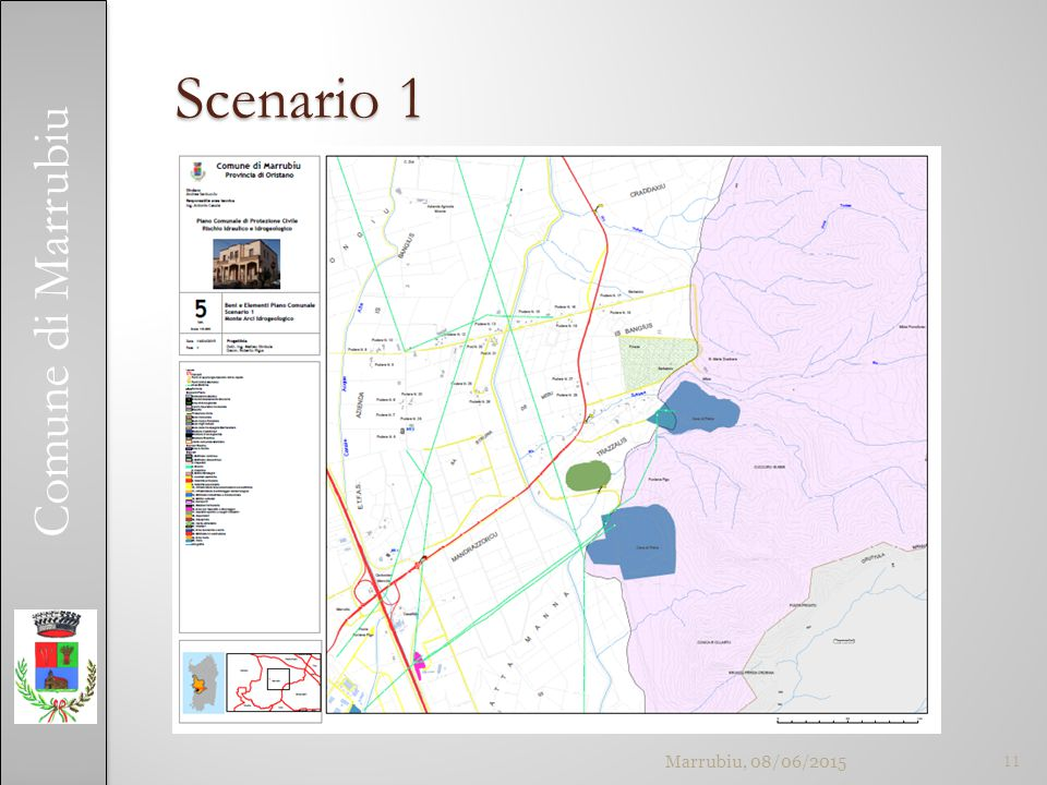 Comune di Marrubiu Scenario 1 Marrubiu, 08/06/201511